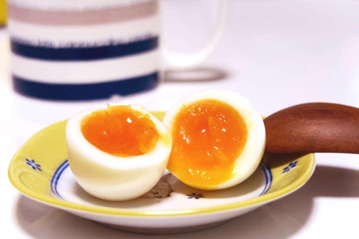 卵 半熟 ゆで