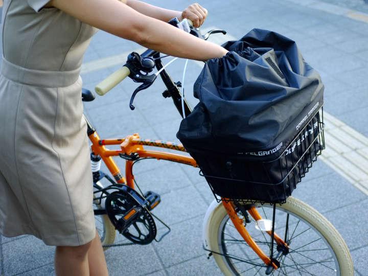 カゴ 自転車 前
