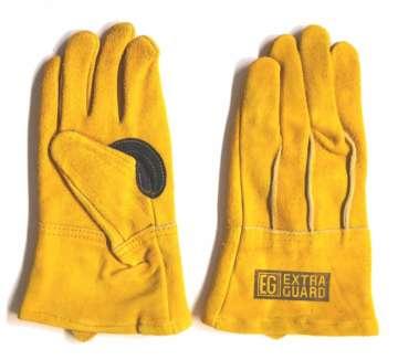 老舗手袋メーカーの焚き火用グローブ